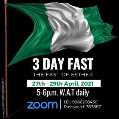 3day Fast -GMJ
